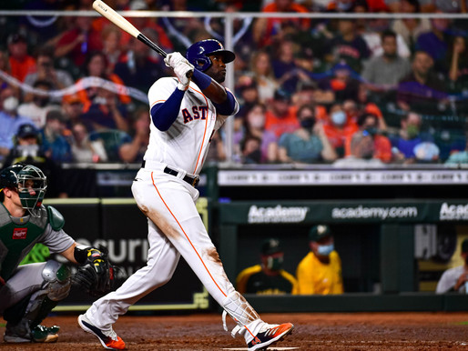 Astros Welcomed Home By Sell-Out Crowd In Victory Over The Oakland A's