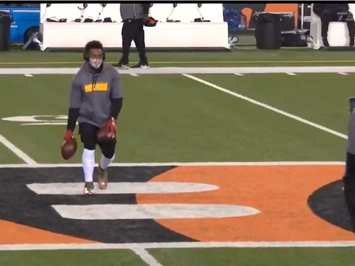 No More Happy Feet Steelers wideout will no longer perform pregame ritual on opposing team's logos.