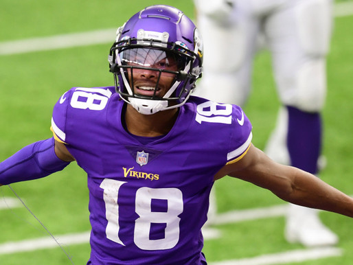 Vikings WR Happy That The Eagles Passed On Him in 2020