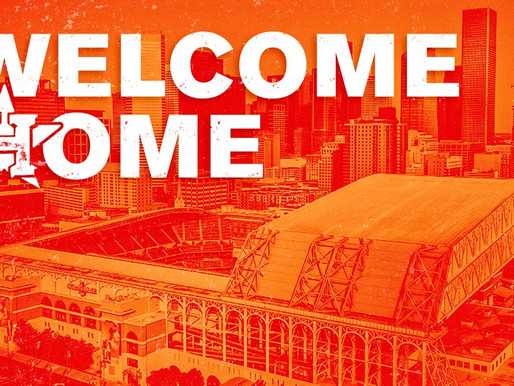 Welcome Home: Astros Set To Play First Game In Front Of Fans At Minute Maid Park Since 2019.