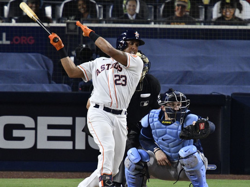 """""""Unfinished Business"""" Astros resign LF Michael Brantley"""