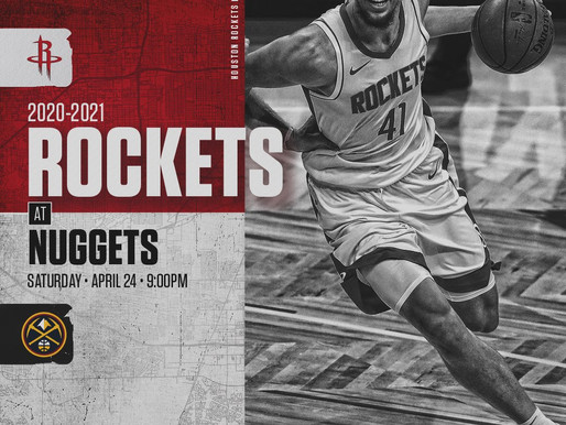 Rockets Face Tough Western Conference Foe Without Key Players In The Lineup