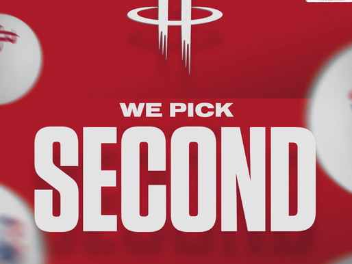 Houston Rockets Land No. 2 Overall Pick In Upcoming NBA Draft