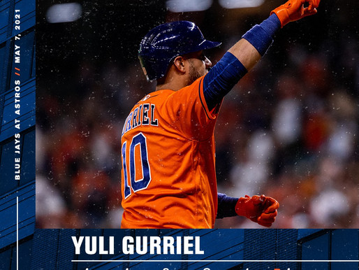 Gurriel Continues Hot Streak At The Plate In 10-4 Victory Over Blue Jays
