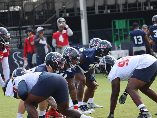In The Trenches-Texans Training Camp 21