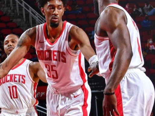 Taken to the Woodshed Center Christian Wood makes his Rockets season debut in blowout over the Spurs