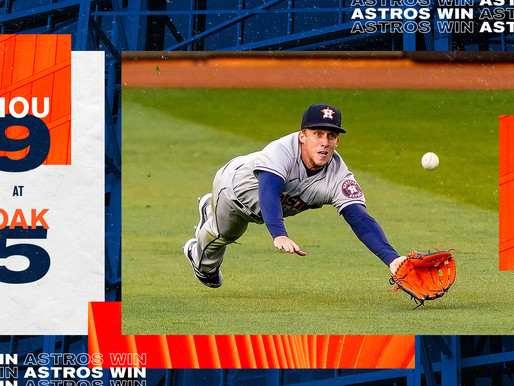 The Astros Didn't Forget