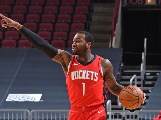 Rockets Guard John Wall Ruled Out For The Remainder Of The Season With Injury