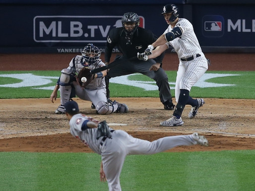 Astros Greeted With Hostility In Yankee Stadium