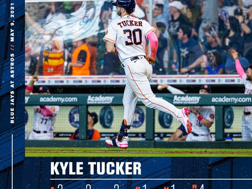 Tucker Has Breakout Game To Help The Astros Win Series Over The Blue Jays