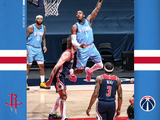 Rockets fall to the Wizards in John Wall's return to D.C.