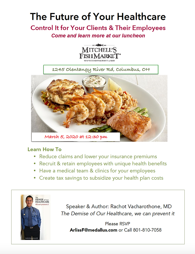 MedallusCare - Luncheon - Brokers March5