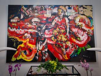 Фотоотчет с выставки Алексея Ваулина «БОЛЬШОЙ ДРУГ» в галерее «Сезоны»