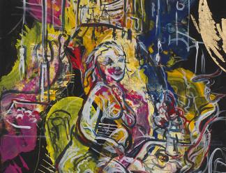 Участие картины Алексея Ваулина при поддержке коллекционера и куратора Елены Комаренко в выставке «К