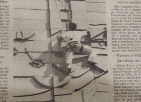 Entrevista com Domingos Alvarez - Organizador de Campeonatos de Escalada Urbana nos anos 90.