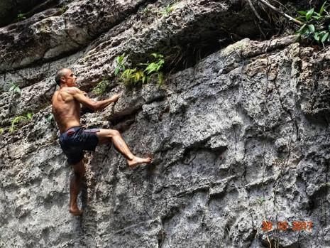 Entrevista com o escalador Paulo Montanha