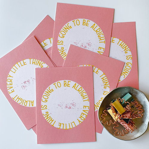 EVERY LITTLE THING - SET OF 10