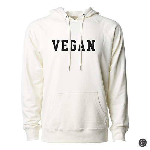Vegan Hoodie - Bone