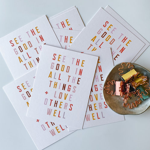 ALL THE THINGS - SET OF 10