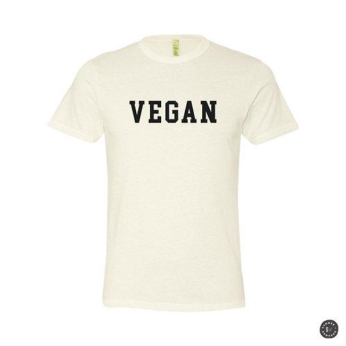 Vegan Unisex Tee - Eco Friendly Bone