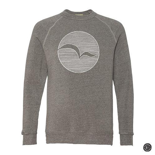 Seabird Crew Sweatshirt - Grey