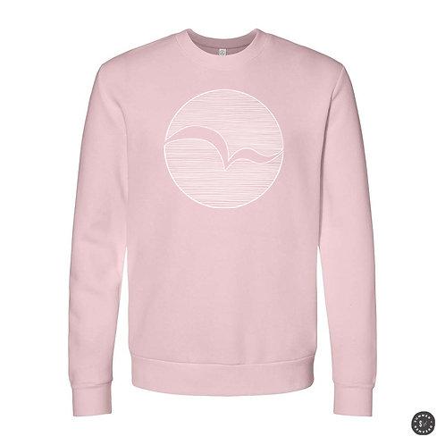 Seabird Crew Sweatshirt - Pink