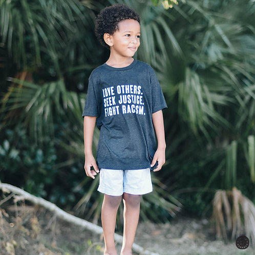 KIDS Fight Racism Tee - Various Colors