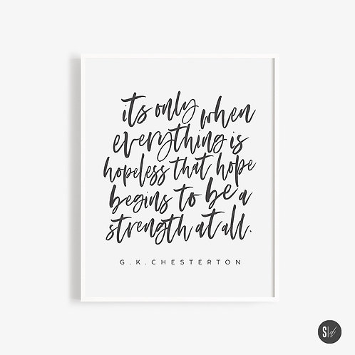 Hope + Strength