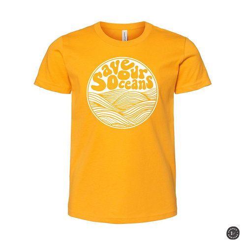 Save Our Oceans Kids Tee - Various Colors