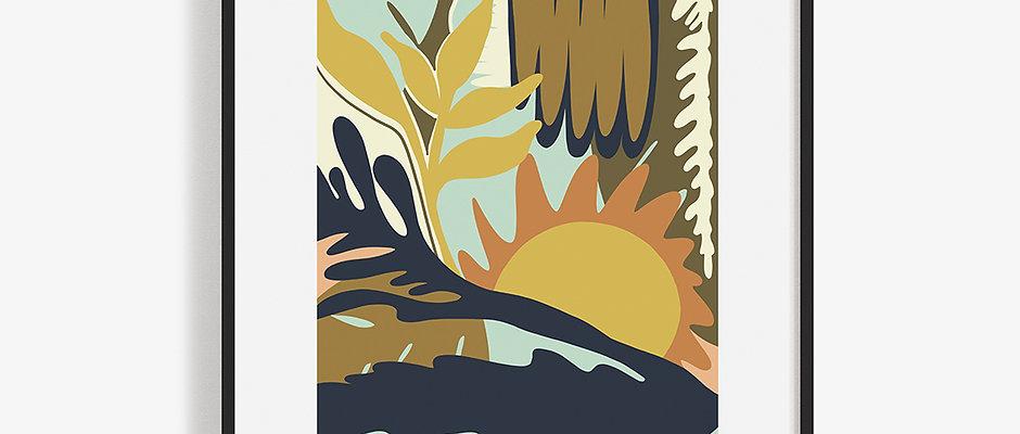 DUSK SUNSET 11x17 Print (Limited Copies)