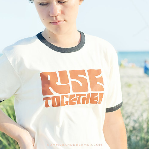 Rise Together Ringer Tee