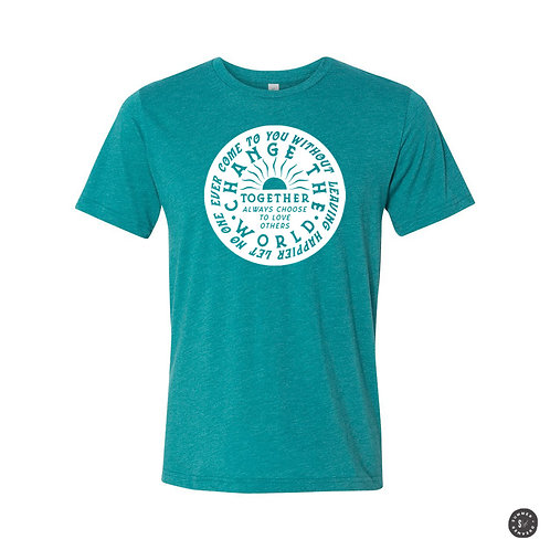 Change The World Unisex Tee - Various Colors