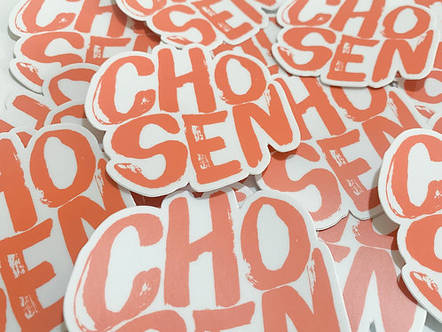 CHOSEN STICKER - Melon