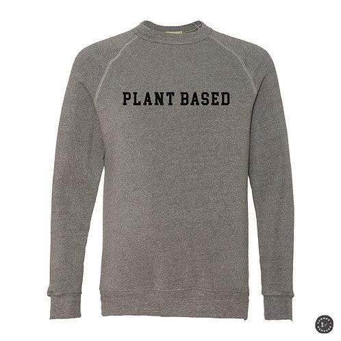 PLANT BASED Crew Sweatshirt - Grey