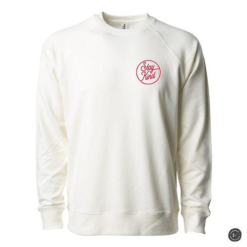 Stay Kind Crew Sweatshirt -Bone