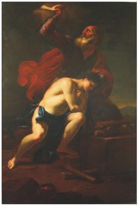 M. V. Halbax, Oběť Abrahámova