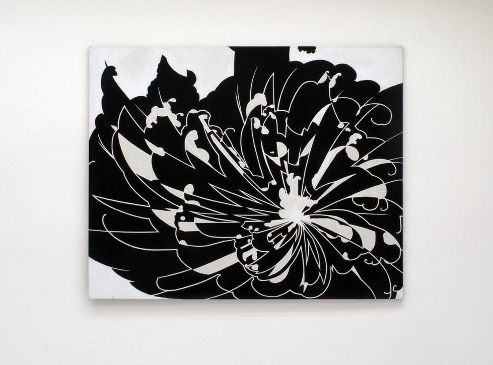 Circumstances_160x130cm acrylics on canv