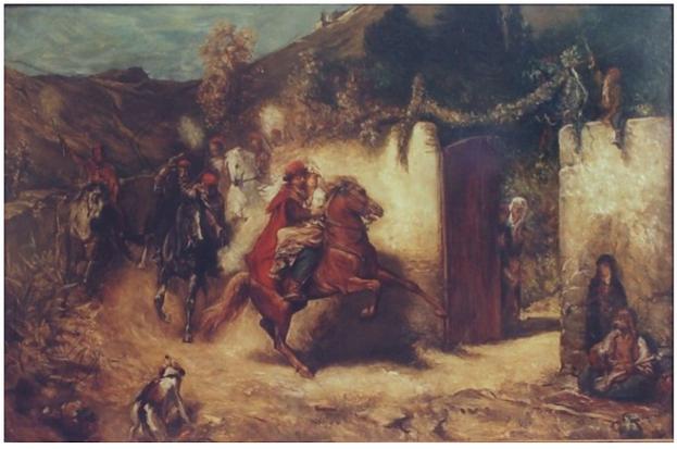 J. Čermák, Dalmatská svatba