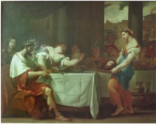 Anonym, Salome s hlavou Jana Křtitele