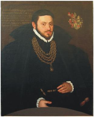 Anonym, Portrét Jana Paara