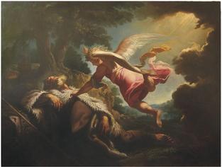P. Brandl, Sen proroka Eliáše