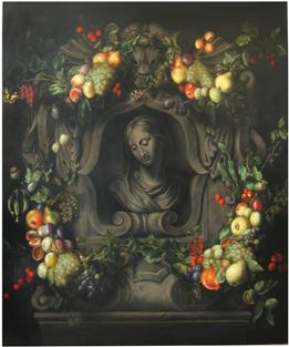 P. Willebeeck, Busta P. Marie s ovocem