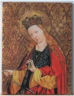 M. Puchnerovy archy, Sv. Kateřina