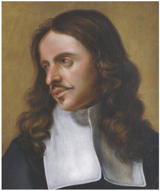 K. Škréta, Podobizna malíře miniatur