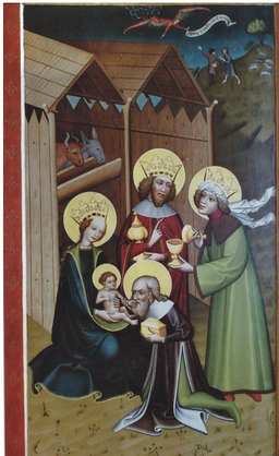Mistr Matejovského o., Klanění tří králů