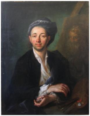 I. Mengs, Portrét malíře Á. Mányokiho