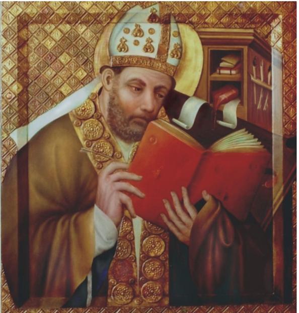 Mistr Theodorik, Sv. Ambrož