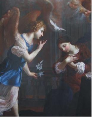 K. Škréta, Zvěstování Panně Marii