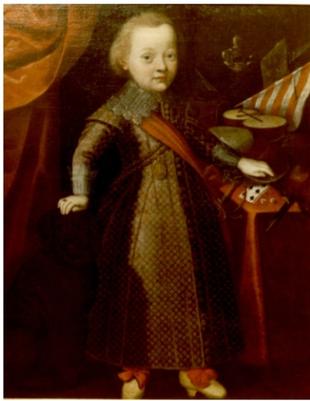 Anonym, Portrét dítěte