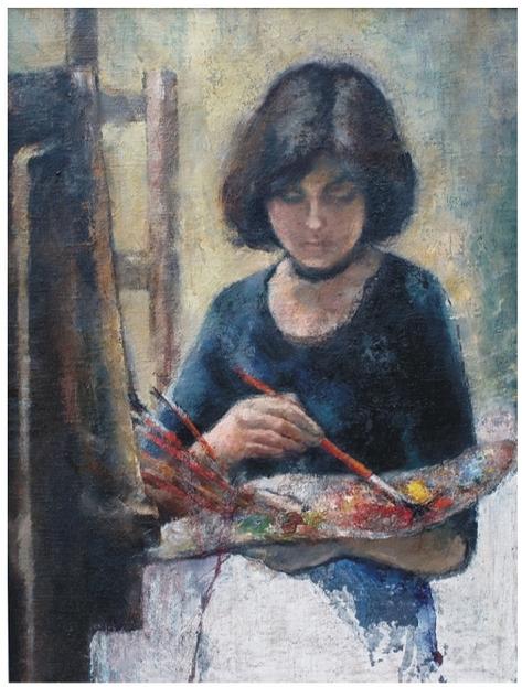Ateliér na AVU, 1977